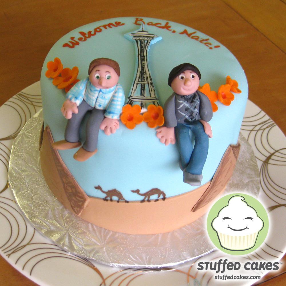 Stuffed Cakes Egypt To Seattle Cake