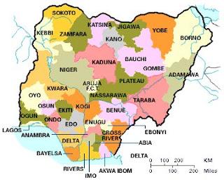 36 States of Nigeria