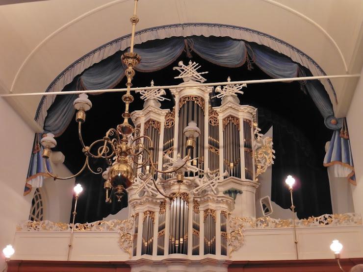 Orgel van de Laurentiuskerk in het Friese Raerd