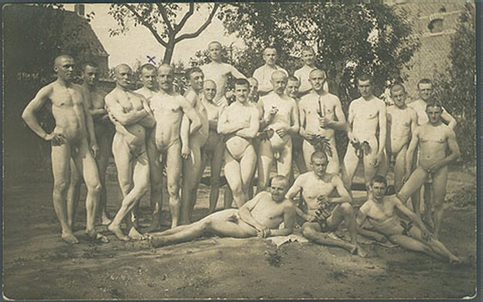 Gay Vintage Nude German Soldiers