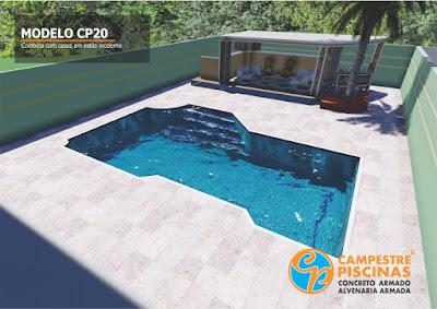 piscinas modernas
