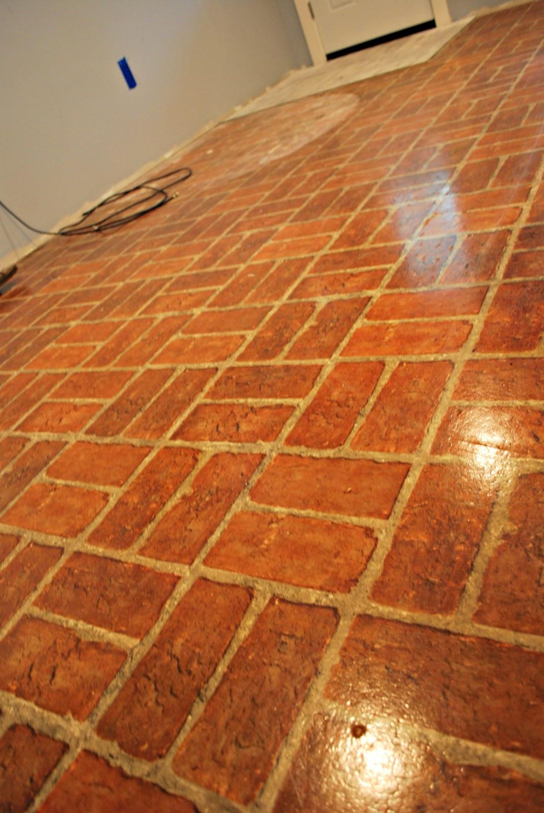 Brick Look Vinyl Flooring Alyssamyers