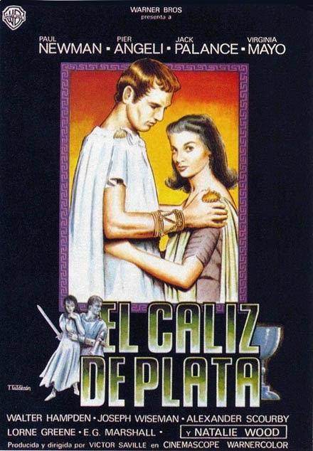 EL CALIZ DE PLATA (1954)