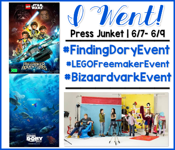 Finding Dory Premier Press Junket