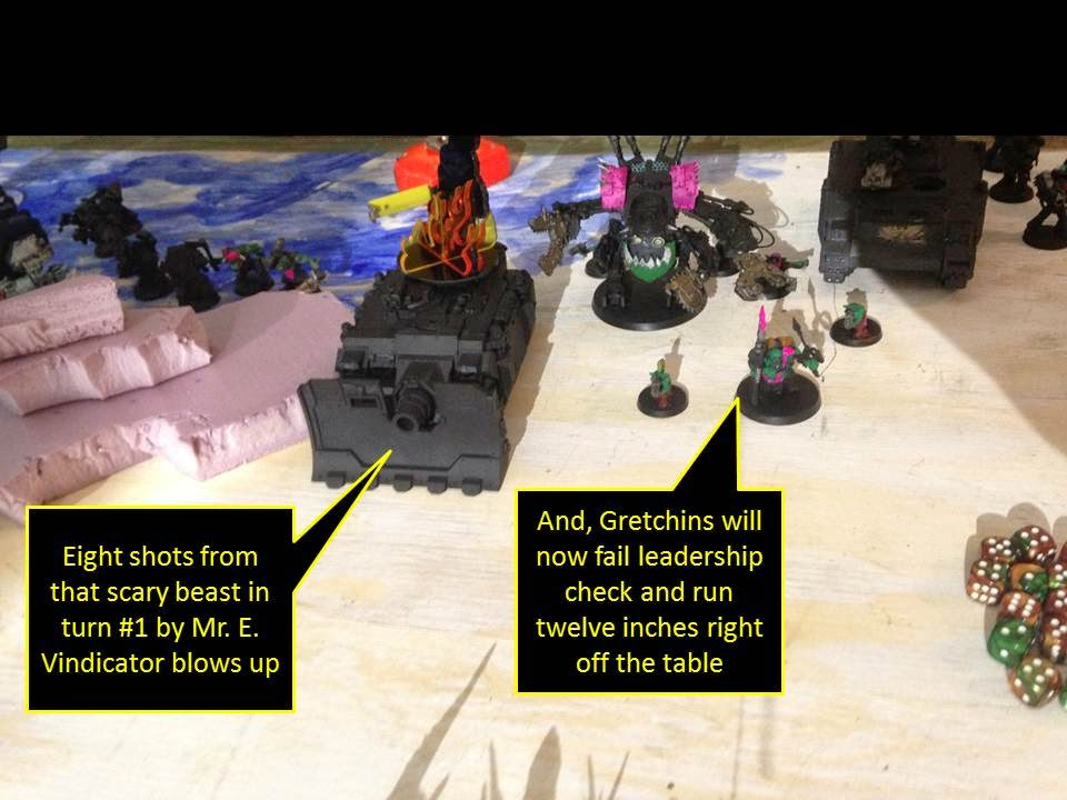 Battle Gaming One Pink Orks Pink Orkys