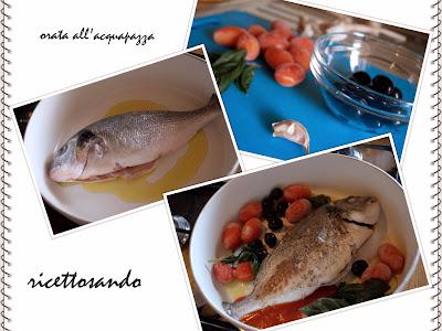 Pesce all'acquapazza ricetta perfetta anche per il pesce intero