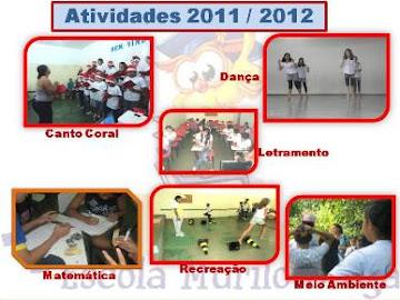 NOSSAS ATIVIDADES EM 2012
