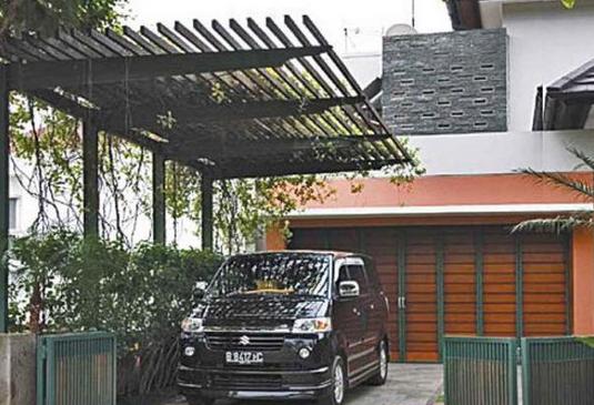 desain model garasi mobil pada rumah minimalis rumah