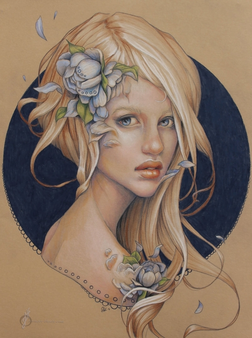 07-Rehabilitation-Jennifer-Healy-Traditional-Art-Color-Pencil-Drawings-www-designstack-co