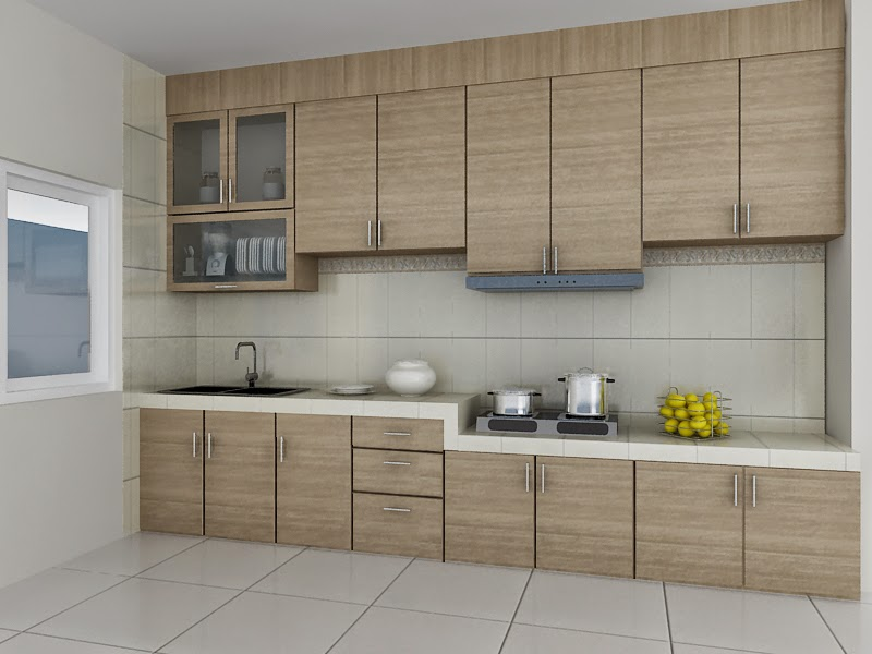 Desain Kitchen Set Minimalis Sederhana Raja Disain Interior
