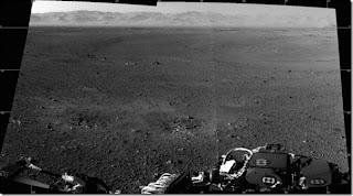 Kawah di Marikh mirip Gurun Mojave di AS
