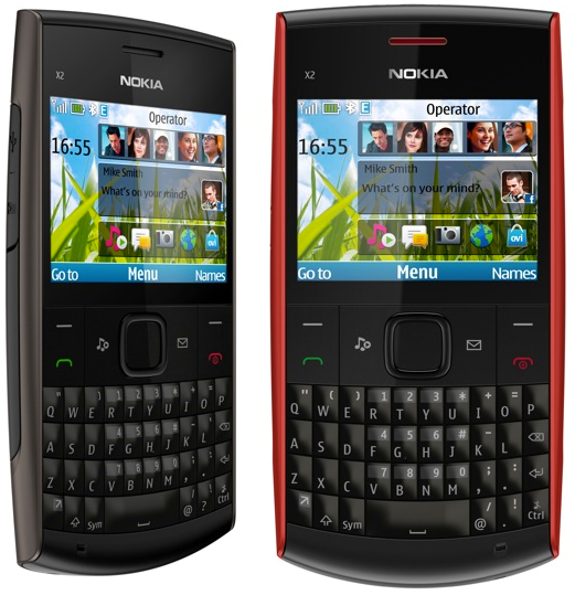 NOKIA X2-01 : Mobile Tracker