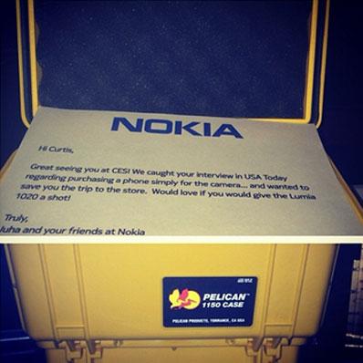 Nokia Berikan 50 Cent Lumia 1020 Gratis