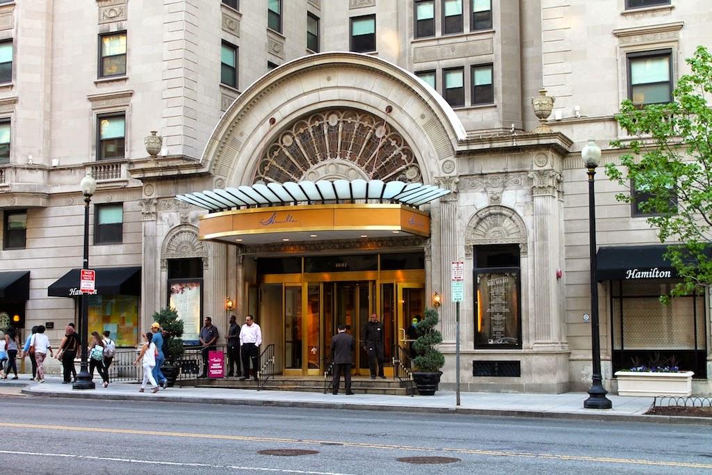 hamilton crowne plaza hotel review dc outlook. Black Bedroom Furniture Sets. Home Design Ideas