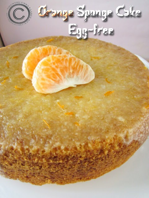 Egg-free-orange-cake-with-orange-icing
