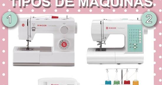 S lo una puntadita tipos de m quinas de coser for Maquinas de coser zaragoza
