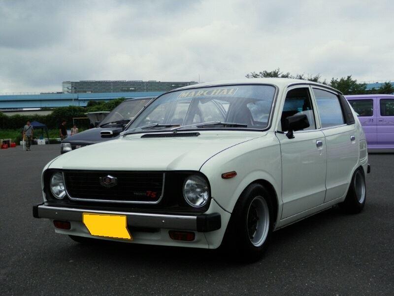Suzuki Fronte 7S, mały samochód, kei car, japonia, ciekawy, zdjęcia