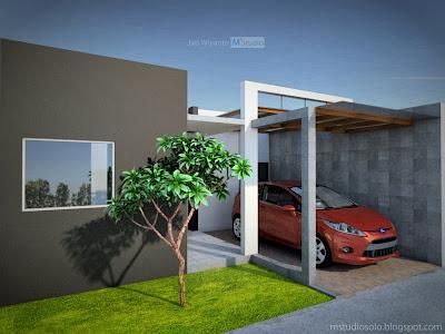 Gambar Rumah Minimalis Tipe 43