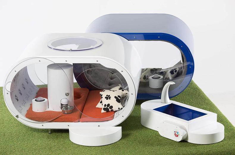 Lujoso caseta de perro de ensueño por Samsung