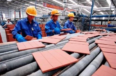 Tồn kho vật liệu xây dựng năm 2014 đã có xu hướng giảm