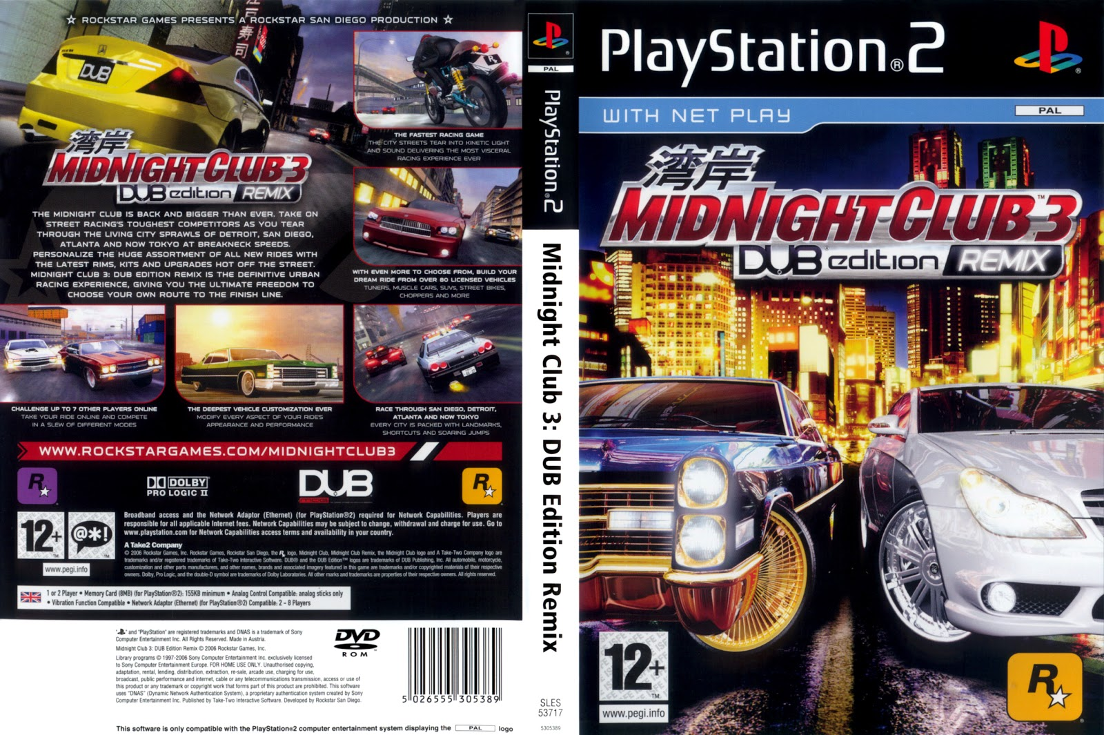 Midnight Club 2 Ps2 Cheats