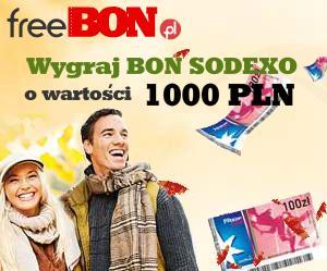 Konkurs 1000zł w bonach SODEXO