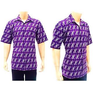 BP2703 - Model Baju Kemeja/Hem Batik Pria Terbaru 2013