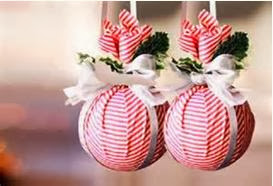 forma fcil de hacer adornos para el rbol de navidad