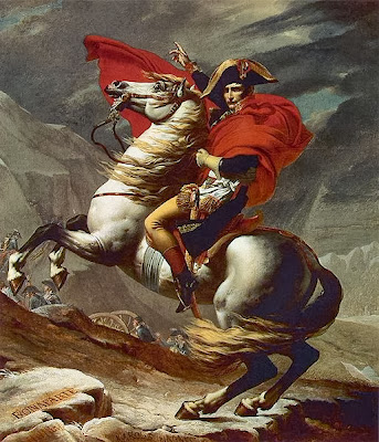 Napoleón y su caballo