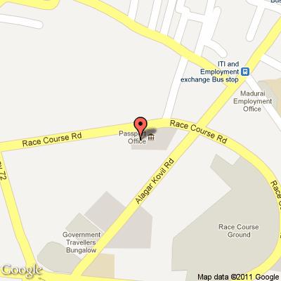 Passport Office Madurai