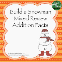 http://www.teacherspayteachers.com/Product/Build-a-Snowman-Addition-Facts-Mixed-Review-1-20-1000002