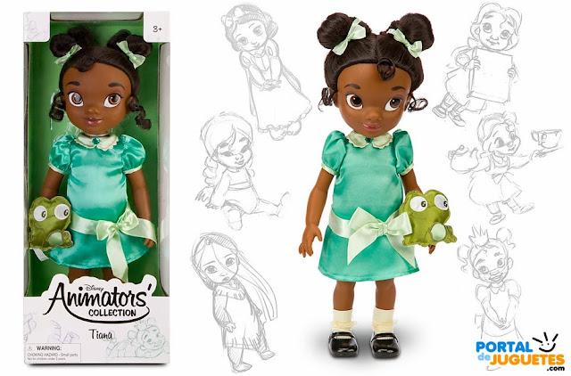 muñeca tiana coleccion animators