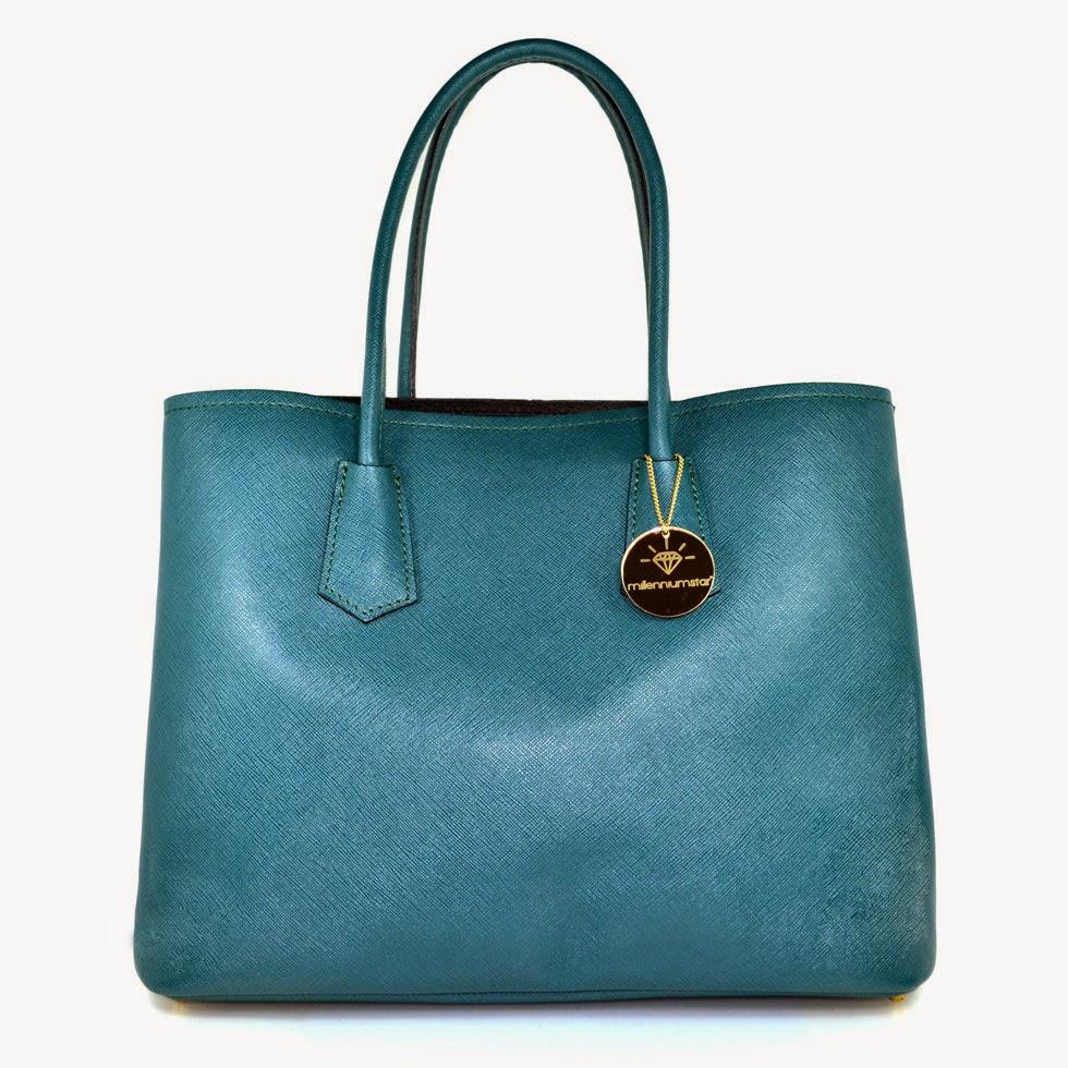 Charlize borsa da donna verde smeraldo