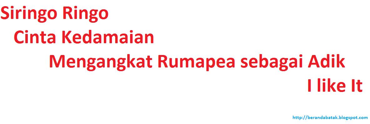Sejarah Marga Siringo ringo dan Rumapea