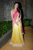 kajal agarwal photos in half saree-thumbnail-20
