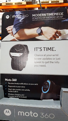 Motorola Moto 360 Modern Timepiece Smartwatch: stylish, functional, and non-douchy