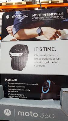Motorola Moto 360 Modern Timepiece Smartwatch: stylish, functional, and non-douchy
