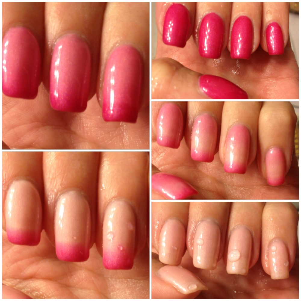 Gel Color Changing Nail Polish