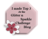 I Got Top 3 at Glitter'n'Sparkle