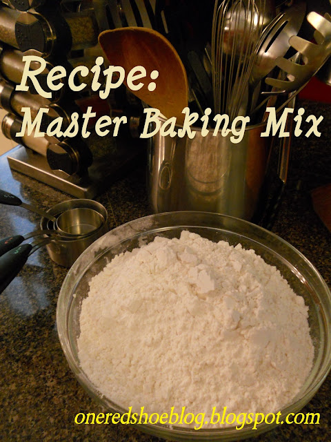 Recipe Master baking mix budget recipes cooking
