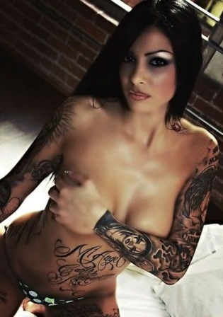 Black Inked Body Art Tattoo Designs Are Permanent And Girls Who Get Inked On The Spare Of The Moment Usually Live To Regret Black Inked Body Art Tattoo