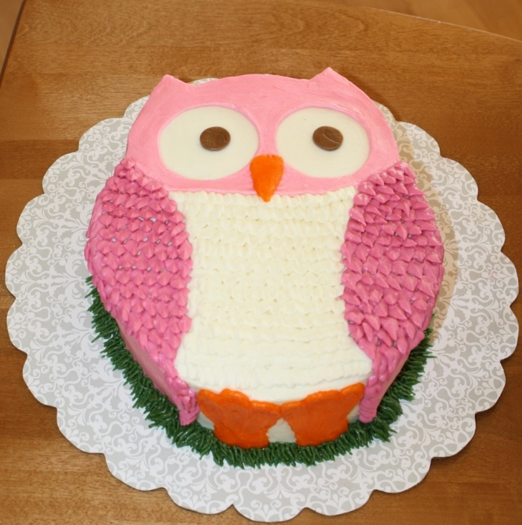 Party Cakes Owl Cake for Ella