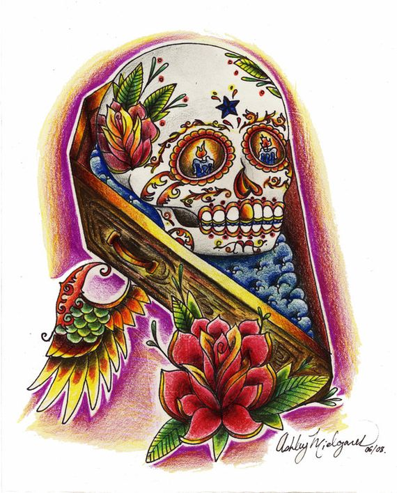 Sugar Skull Designs – Inspiration From Mexican Folk Art
