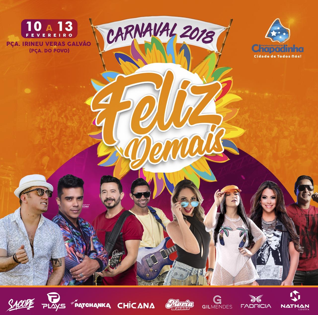 Carnaval Feliz Demais!