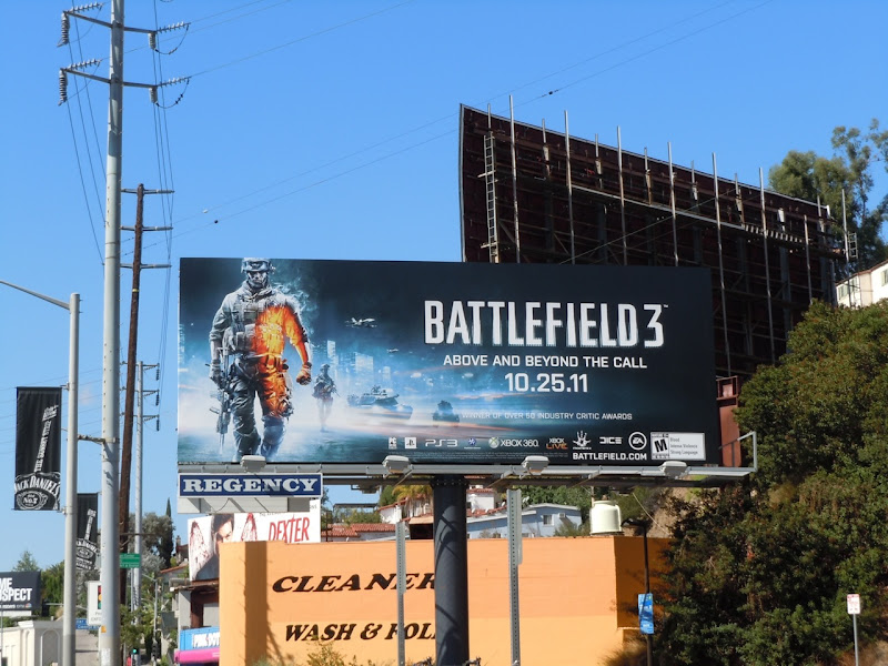 Battlefield 3 game billboard
