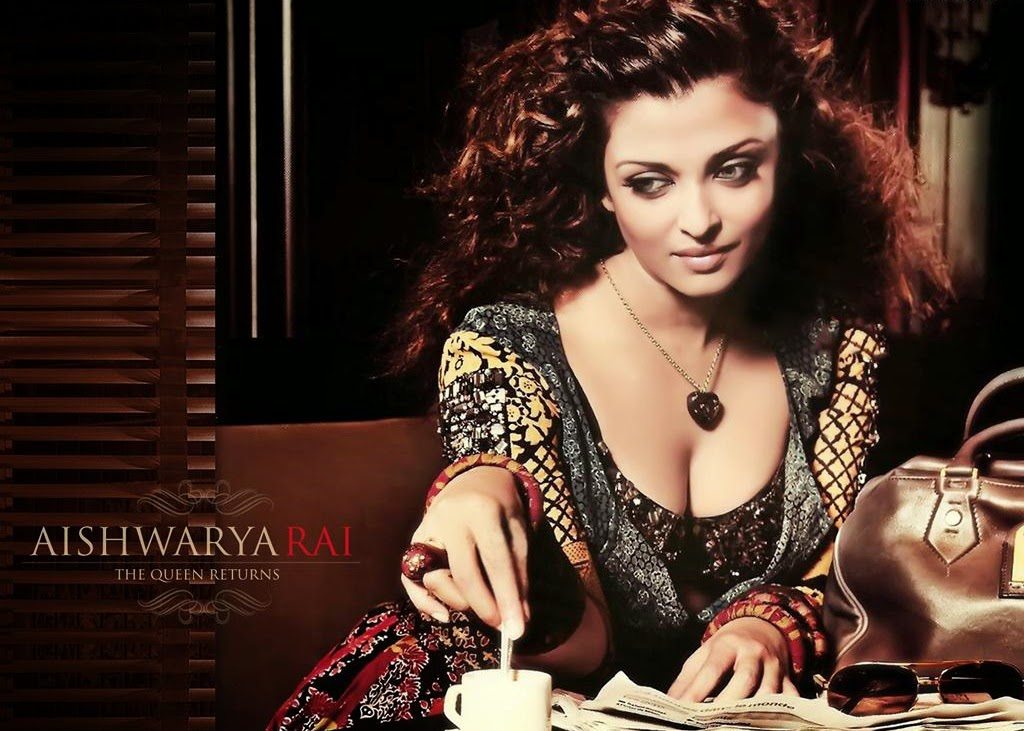 aishwarya hot cleavage hd wallpapers