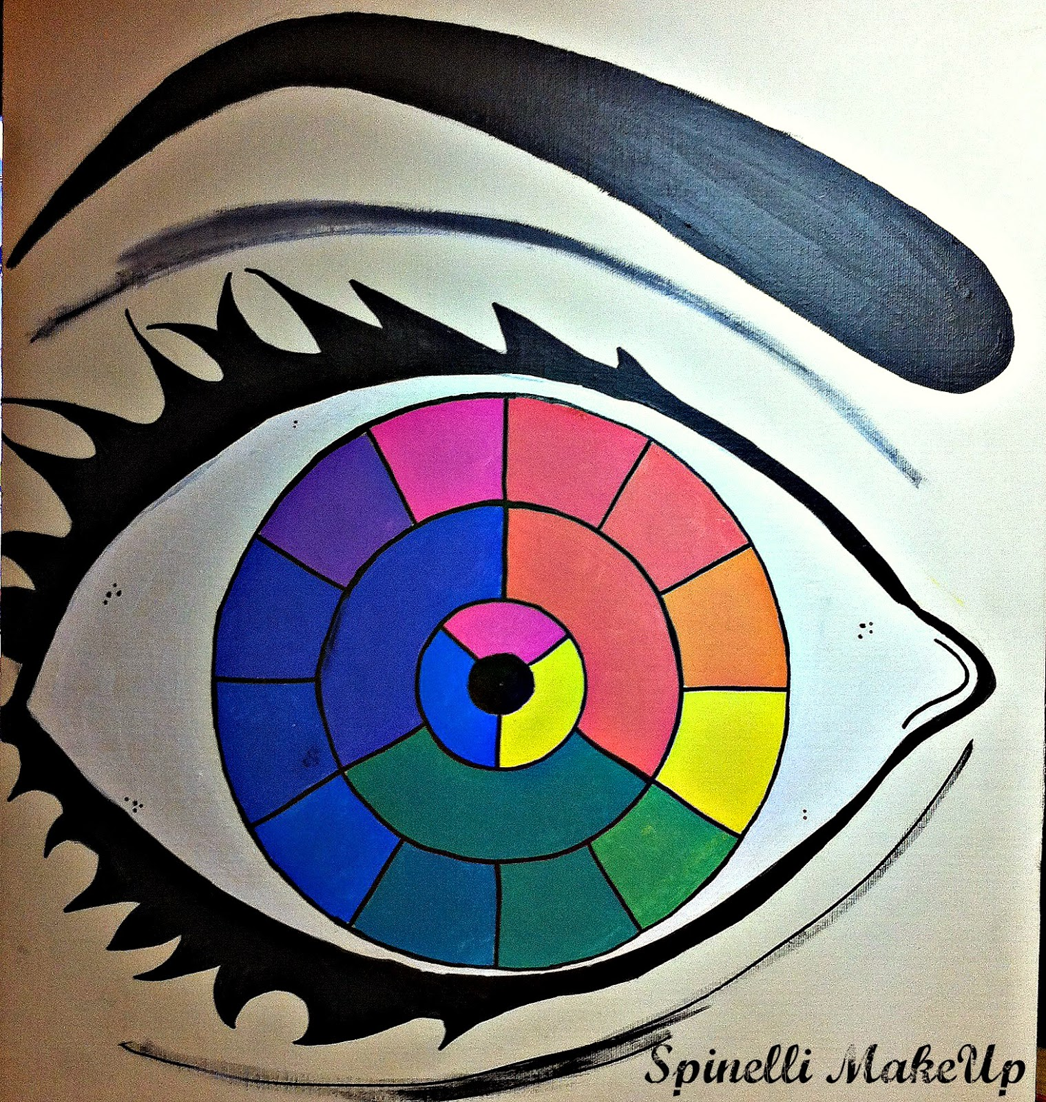 Spinelli makeup colores c lidos y fr os - Los colores calidos y frios ...