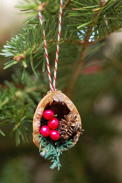 El mundo del reciclaje detalles de navidad hechos con for Detalles para navidad