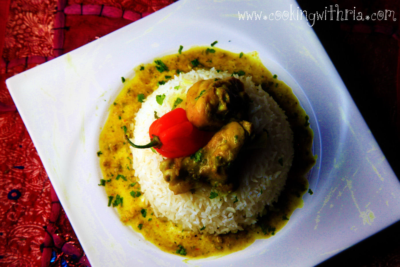 recipe: trinidad curry chicken coconut milk [24]
