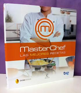 Portada del libro MasterChef, las mejores recetas